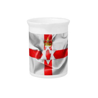 Northern Ireland Flag Drink Pitchers
