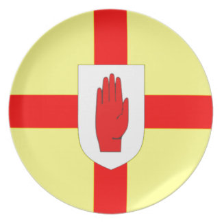 Northern Ireland Flag Plate
