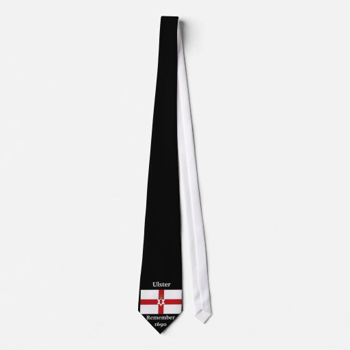 Northern Ireland flag, Remember 1690, Ulster Tie