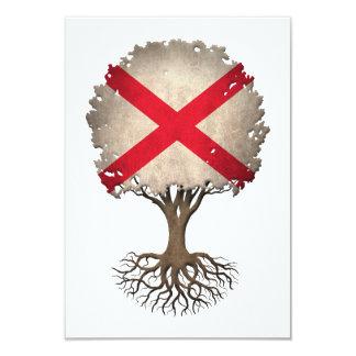 Northern Ireland Flag Tree of Life Customizable 3.5x5 Paper Invitation Card