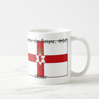 Northern Ireland flag, Ulster, Remember the Boy... Classic White Coffee Mug
