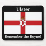 Northern Ireland flag, Ulster, Remember the Boyne! Mouse Pad