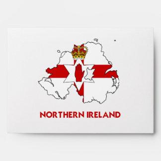 NORTHERN IRELAND MAP ENVELOPE