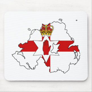 NORTHERN IRELAND MAP MOUSE PAD