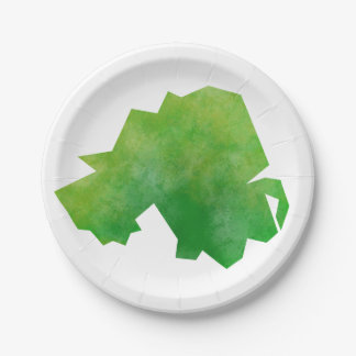 Northern Ireland Map Paper Plate