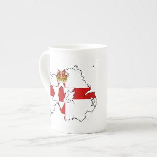 NORTHERN IRELAND MAP TEA CUP