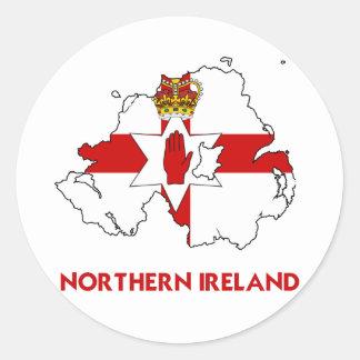 NORTHERN IRELAND MAP STICKER