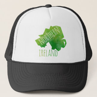 Northern Ireland Map Trucker Hat