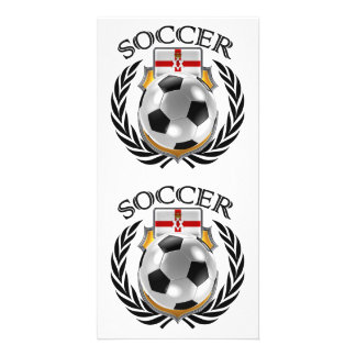 Northern Ireland Soccer 2016 Fan Gear Card