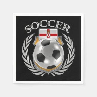 Northern Ireland Soccer 2016 Fan Gear Paper Napkin