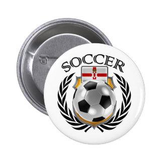 Northern Ireland Soccer 2016 Fan Gear Pinback Button