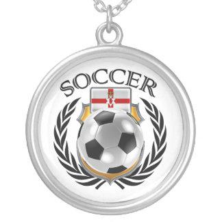 Northern Ireland Soccer 2016 Fan Gear Silver Plated Necklace