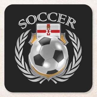 Northern Ireland Soccer 2016 Fan Gear Square Paper Coaster