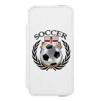 Northern Ireland Soccer 2016 Fan Gear Wallet Case For iPhone SE/5/5s