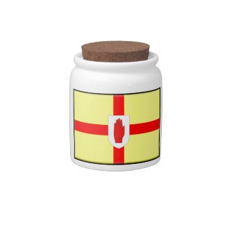 Northern Ireland (Ulster) Flag Candy Dish