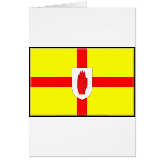 Northern Ireland (Ulster) Flag Card