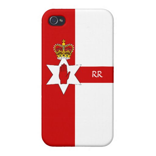 Northern Ireland Ulster Flag iPhone 4 Cases For iPhone 4