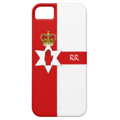 Northern Ireland Ulster Flag Iphone 5 Case at Zazzle