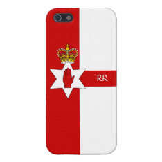 Northern Ireland Ulster Flag Iphone 5 Iphone Se/5/5s Case at Zazzle