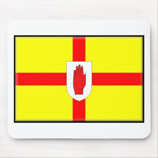 Northern Ireland (Ulster) Flag Mouse Pad