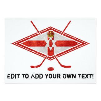 Northern Irish Ice Hockey 5x7 Paper Invitation Card