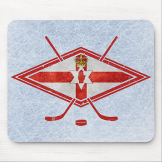 Northern Irish Ice Hockey Mouse Pad