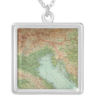 Northern Italy, Austria, &c Silver Plated Necklace