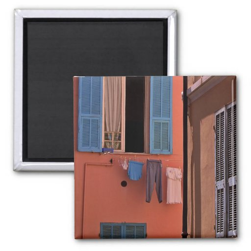 Northern Italy, Morning Light Gifts 2 Inch Square Magnet