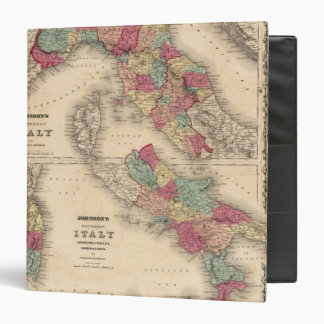Northern Italy Southern Italy 3 Ring Binder