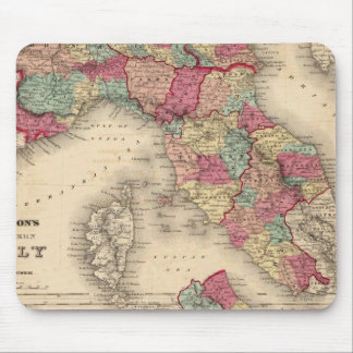 Northern Italy Southern Italy Mousepads