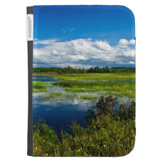 Northern Lake Summer Afternoon Kindle 3G Covers