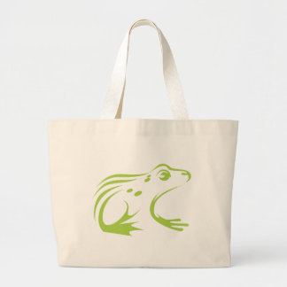 Northern Leopard Frog Canvas Bags