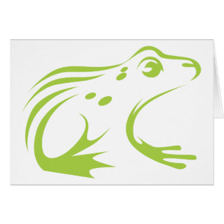 Northern Leopard Frog Card