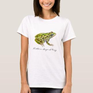 Northern Leopard Frog Ladies Babydoll T-Shirt