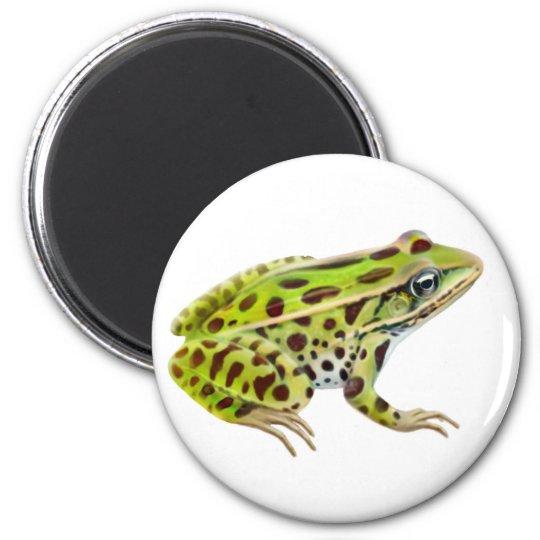 Northern Leopard Frog Magnet