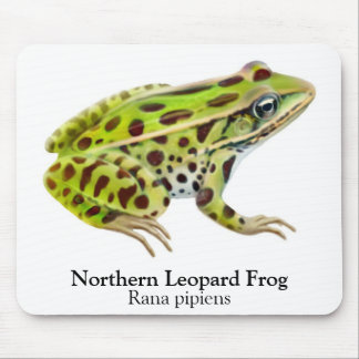 Northern Leopard Frog Mousepad