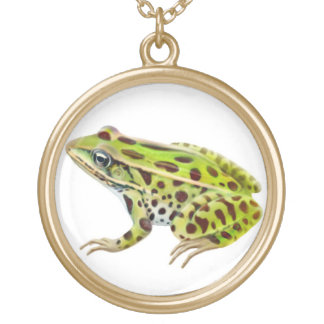 Northern Leopard Frog Necklace
