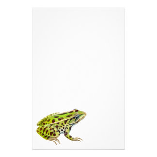 Northern Leopard Frog Stationery