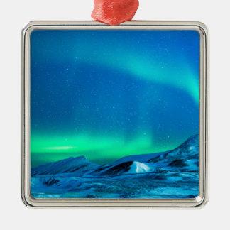 Northern Light Metal Ornament