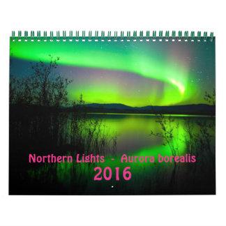 Northern Lights 2016 - Medium Calendar