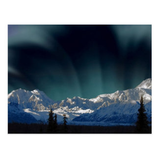 Northern Lights Alaska Postcard