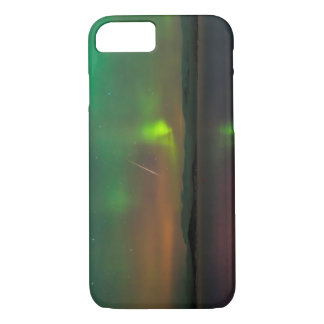 Northern Lights and a Geminid Meteor iPhone 7 Case