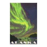 Northern Lights and Orcas - Dawson, Alaska Canvas Prints