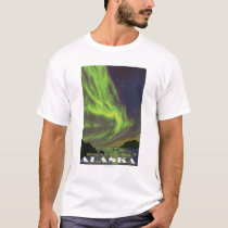 Northern Lights and Orcas - Denali Nat'l Park, T-Shirt