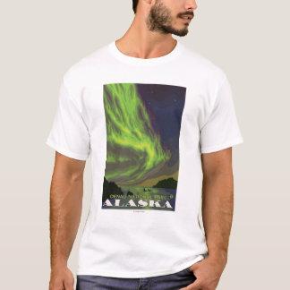 Northern Lights and Orcas - Denali Nat'l Park, T-Shirt