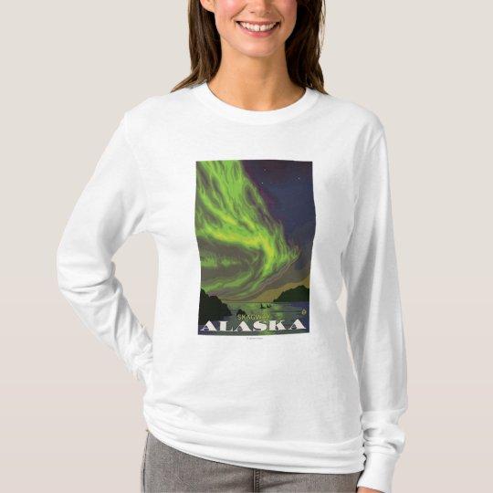Northern Lights and Orcas - Skagway, Alaska T-Shirt