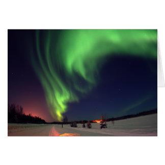 Northern Lights at Bear Lake Card