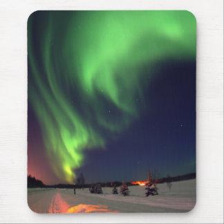 Northern Lights at Bear Lake Mouse Pads