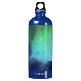 Northern Lights / Aurora Borealis Aluminum Water Bottle
