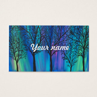 Northern Lights, Aurora Borealis Business Card